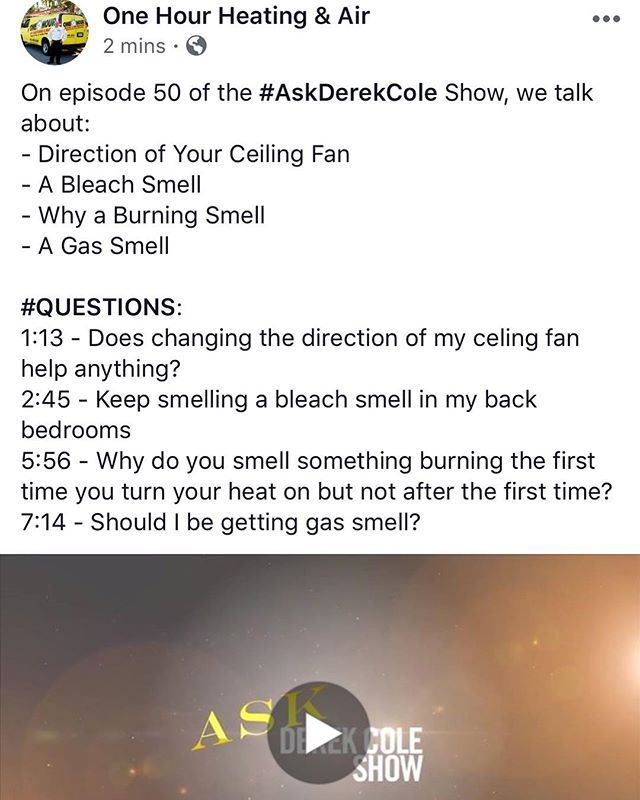 Check out our #Facebook because on episode 50 of the #AskDerekCole