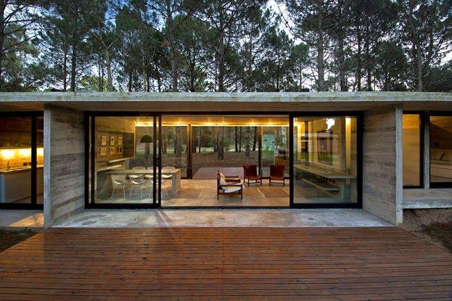 Casas minimalistas y modernas minimalismo en argentina for Casas minimalistas en argentina