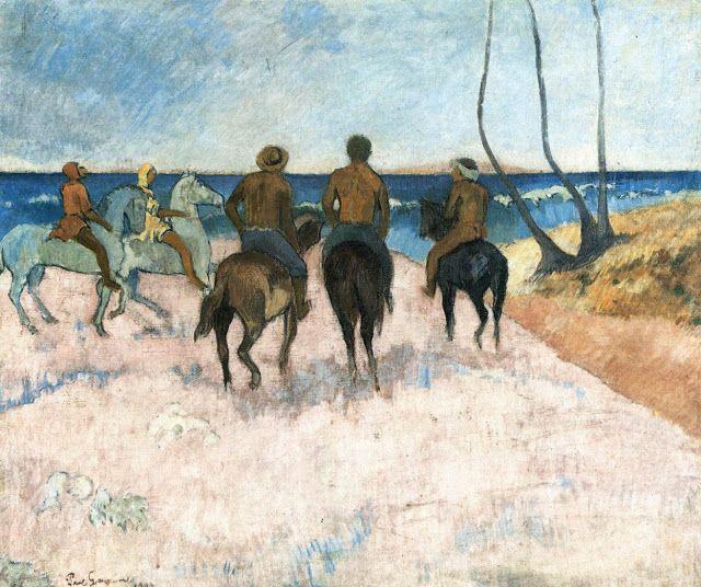 Αναβάτες στην παραλία (1902) Μουσείο Φόλκβανγκ στο Έσσεν Γερμανίας