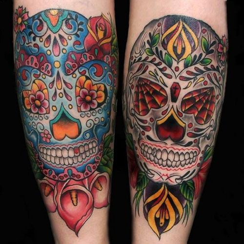 61 Best Images About Tattoo: 61 Best Images About Sugar Skullz On Pinterest
