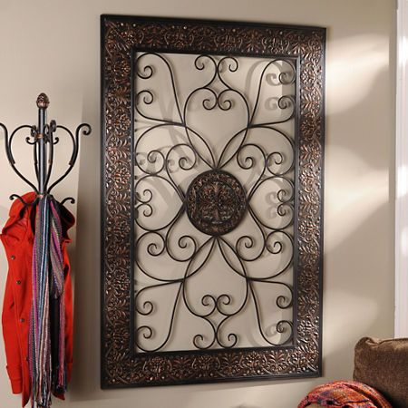 27 best house decor images on pinterest home ideas art for Dining room metal wall art