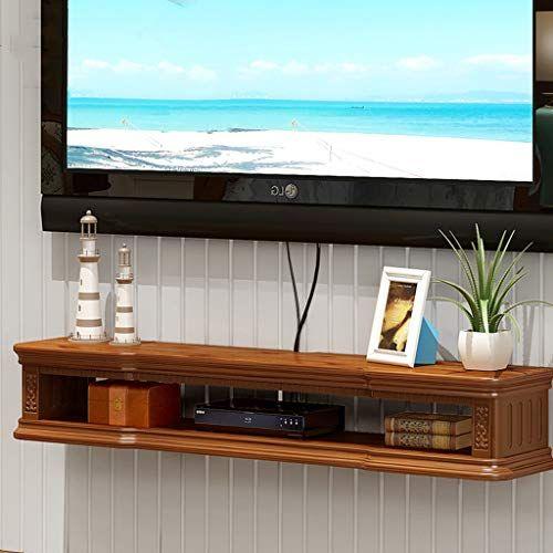 on sale 0016d 47e05 Wall-Mounted TV Shelf TV Cabinet Bedroom Living Room Wall ...