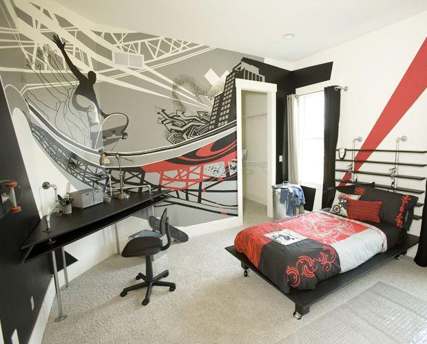 25+ best ideas about Boys skateboard room on Pinterest   Teenage ...