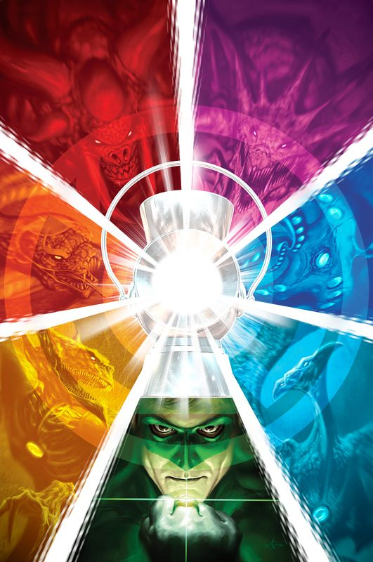 Green Lantern No. 54 by *AlexGarner on deviantART