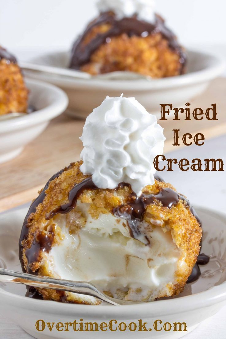 The hot, deep fried and crunchy exterior paired with the creamy, frozen interior make fried ice cream a treat like none other.