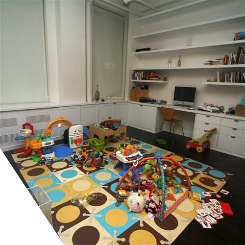 35 best images about office playroom on pinterest chevron offices and home office decor - Playroom office ideas ...