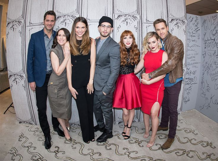 Sutton Foster, Nico Tortorella, Miriam Shor, Hilary Duff, Peter Hermann, Molly Bernard & Dan Amboyer from The Big Picture: Today's Hot Pics