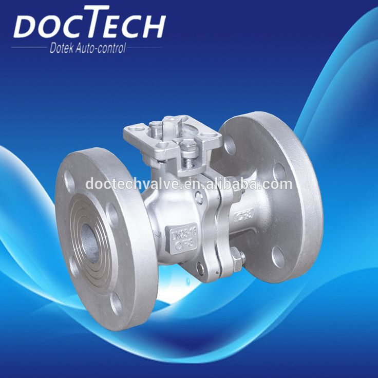 0016 PN16 DIN stainless steel flange ball valve