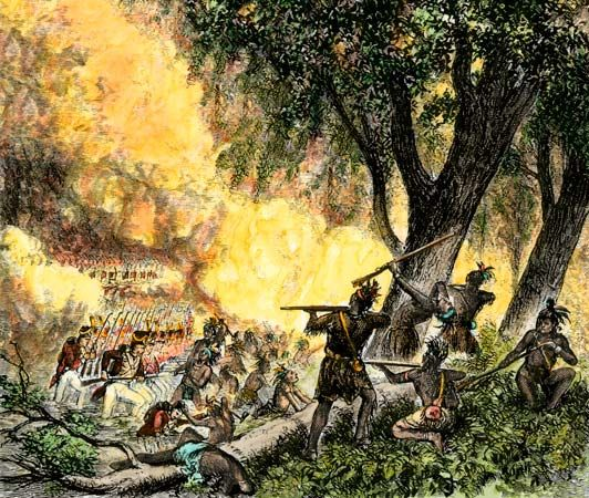 *BATTLE OF FALLEN TIMBERS ~The fruits of the Battle of Fallen Timbers were…