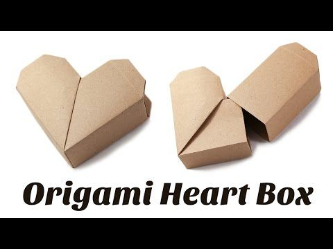 Origami Heart Box Instructions - YouTube
