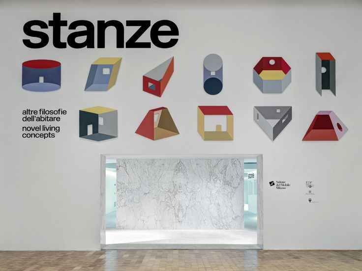 The stanzas are the rooms of the heart and ROOMS. Novel living concepts showcases and interprets them through projects by 11 leading architects. At La Triennale di Milano until 12th September