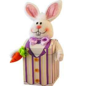 Easter baskets 11 pinterest art of appreciation gift baskets mr funny bunny easter gift box of candy treats negle Gallery
