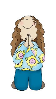Free Dearie Dolls Digi Stamps: As requested....Girl Kneeling in Prayer