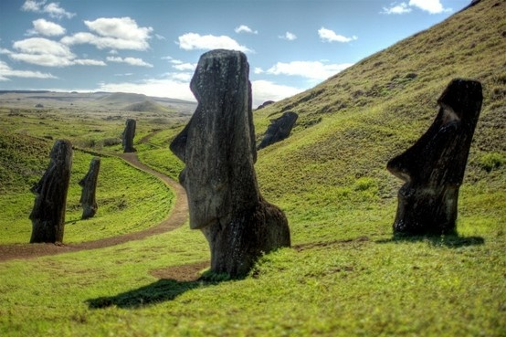 easter island, chile easter island, chile