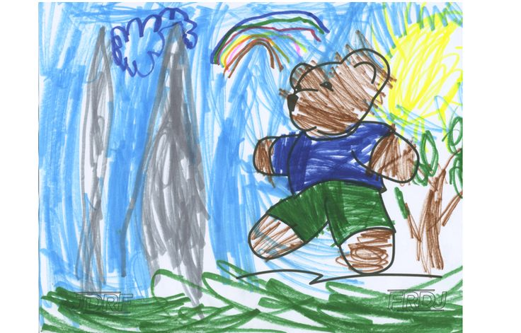 JDRF's Colouring Contest announces the winning artwork by Oliver, age 5.