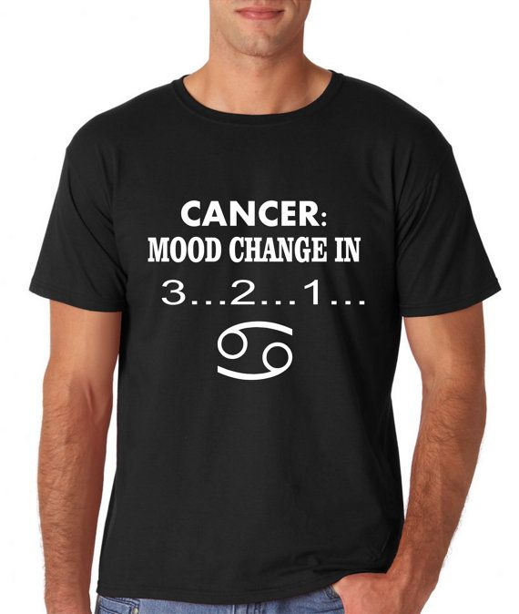 a37f38a7 Humor Tees Funny Cancer Astrology Zodiac Sign Unisex by CelebriT | Just  random things!:)