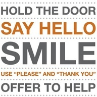 The basics of American manners.