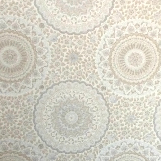 Wallpaper - perhaps in the bathroom? I would love to feel like i was in versailles..