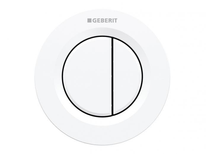 Geberit Sigma Round Remote Dual Flush Button White