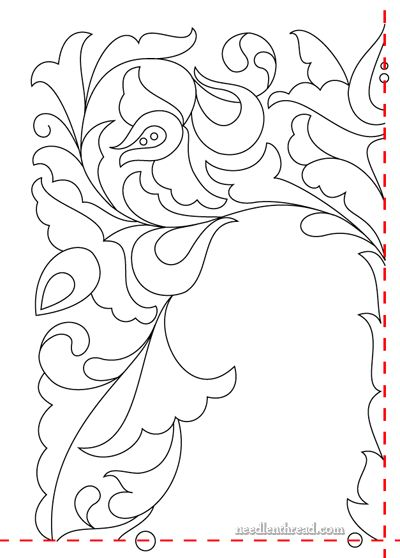 Hungarian Hand Embroidery Design #9