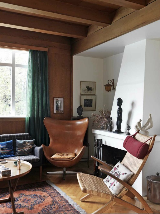 Halldor Laxness' home, Iceland http://www.homeanddelicious.is/02_issue/