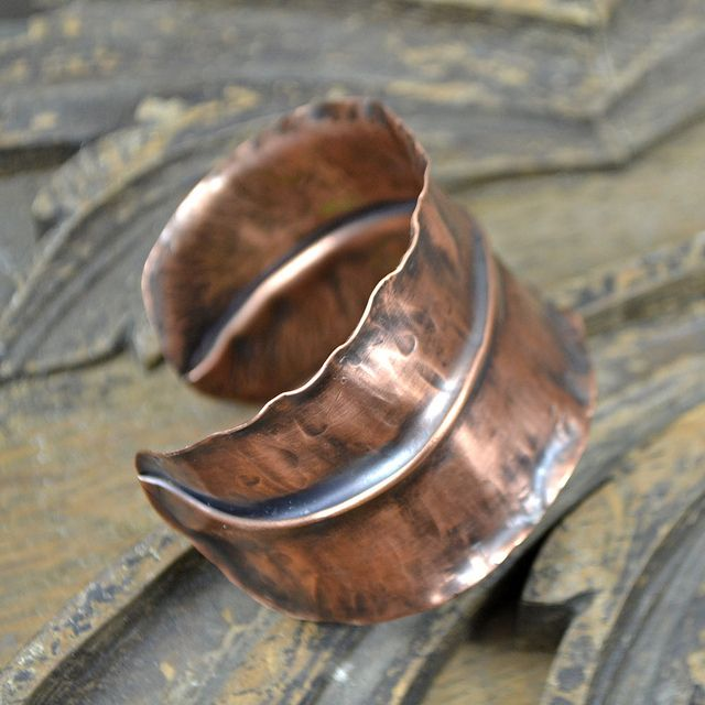 117 best Fold formed jewelry images on Pinterest | Copper jewelry ...