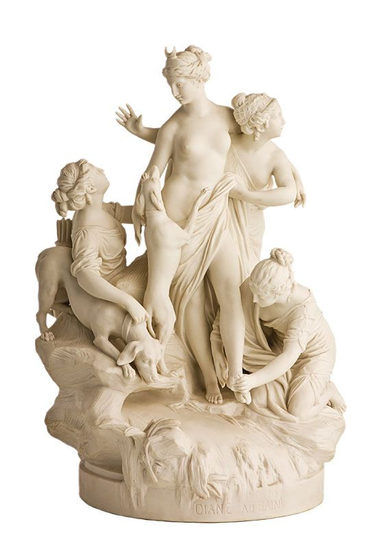 A Sevres Parian Ware of DIANA.