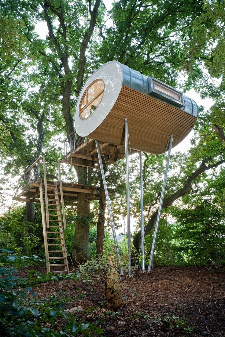 Enchanted fairy tree house here is a little faerie tree house linda - Treehouse Djuren By Baumraum