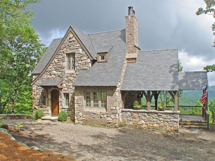 17 best images about sheds cottages happy stone cabin for Small stone cabin