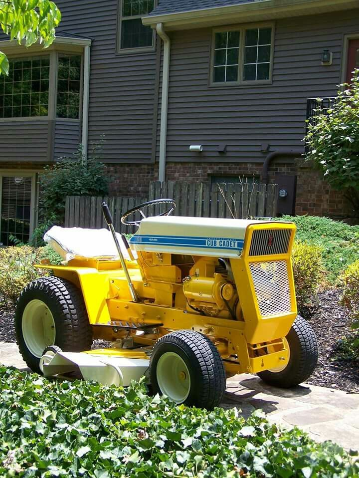 Old International Cub Cadet Lawn Tractor : Best vintage lawn garden tractors images on