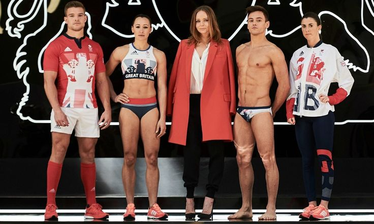 jessica Ennis Hill in GB Olympic kit launch Rio 2016