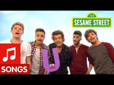 """Sesame Street: One Direction What Makes """"U"""" Useful (What Makes You Beautiful Parody) - YouTube"""