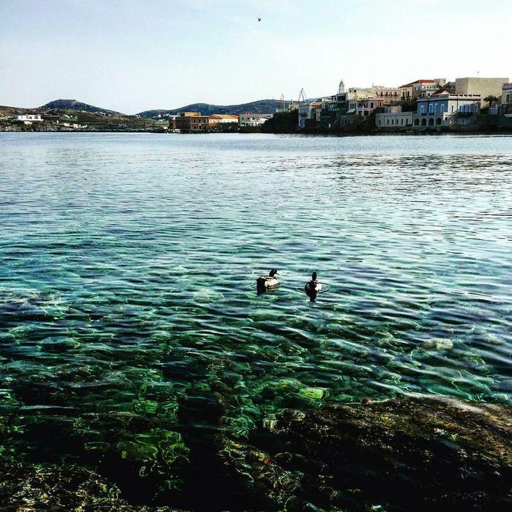 Vaporia, Syros island, Greece