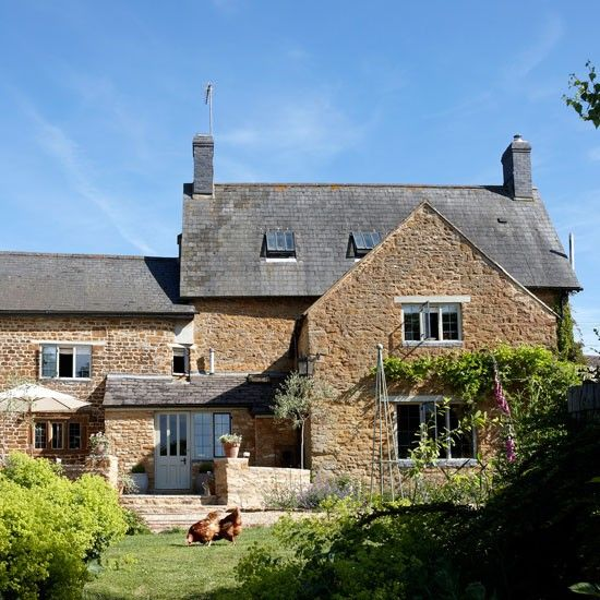 Take a look around a fabulous Cotswolds farmhouse