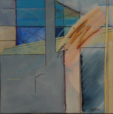 "Saatchi Art Artist Michael Newman; Painting, ""Philosophers Box"" #art"