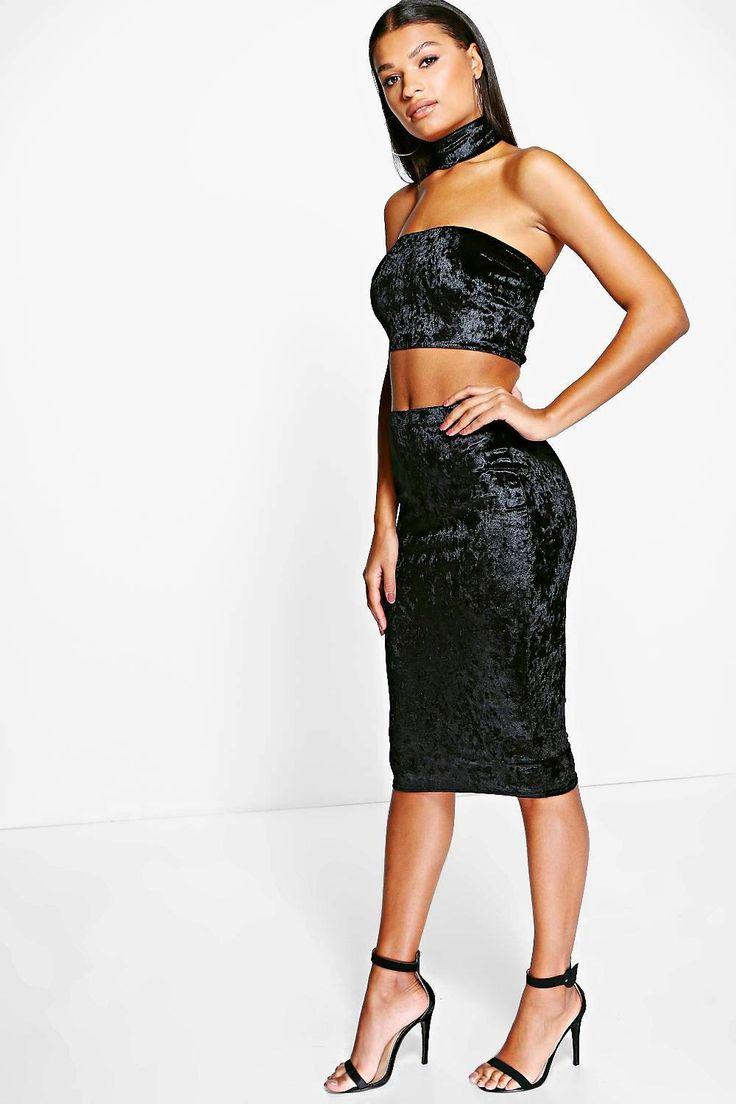 H m lace bandeau dress skirt