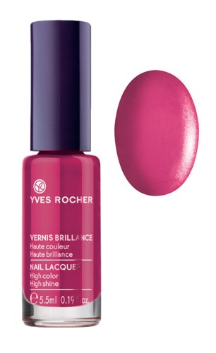 For a smooth, lacquered finish try our nail lacquer in Sumptuous Pink! Notre Vernis brillance Rose Somptueux pour un fini lisse et laqué! @Yves Rocher Canada #GrandRougeMoment #yvesrocher