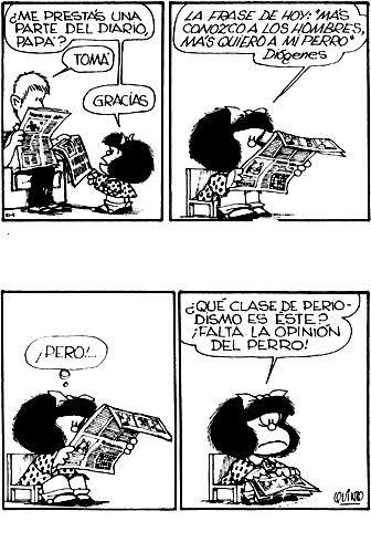 Siempre hay dos lados #mafalda #quino