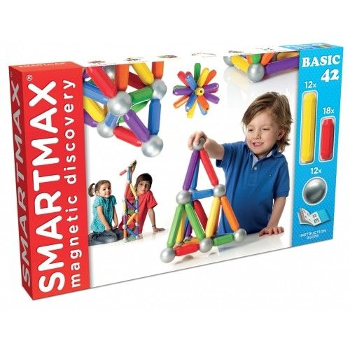 SmartMax - Magnetic Discovery Construction Introductory Set A great gift for my boy who loves to build! #EntropyWishList #PinToWin
