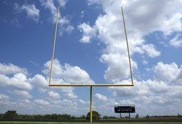 When the kicker on your favorite NFL team misses a game-winning field goal, it's easy to yell at the TV that such a field goal should be impossible to miss. From some angles, the goal posts look extremely wide -- but when you're on the field with the game in the balance, the opening between the two posts can appear tiny.