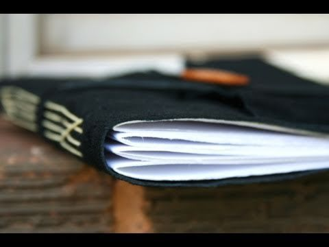 Handbound leather journal tutorial from Whitney Sews.  Fun to make and customize!