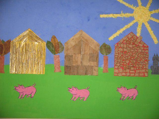 jeu les 3 petits cochons maternelle - Bing Images | les 3 ...