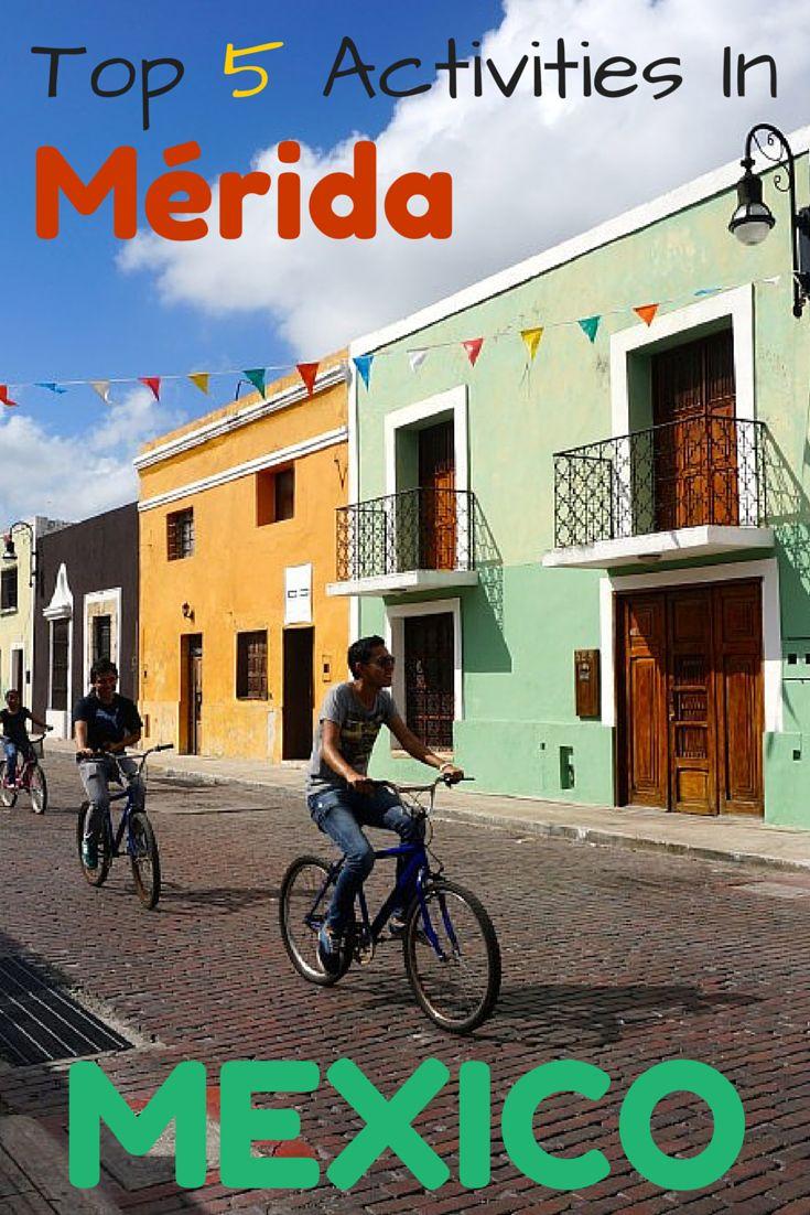 Mérida, México es la ciudad más grande en la península de Yucatán. Mérida es extremadamente seguro, los meridianos son amables, la comida es deliciosa, y la vida nocturna se atasca. Si la planificación de un viaje a Mérida, que sin duda recomendaría tratando de mantenerse durante el fin de semana, ya que toda la ciudad tiende a salir a jugar a continuación. Aquí están las cinco cosas que hacer si se visita esta ciudad increíble!