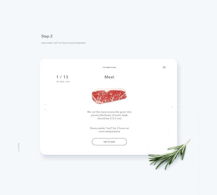 Interaction Design: I, Steak Mobile App
