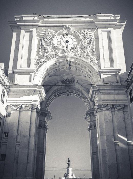 Arco da Rua Augusta - Lissabon