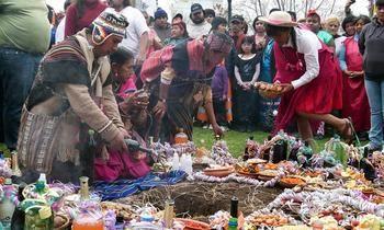Con profundo significado, los pueblos originarios celebran hoy el Día de la Pachamama - EcoPortal.net