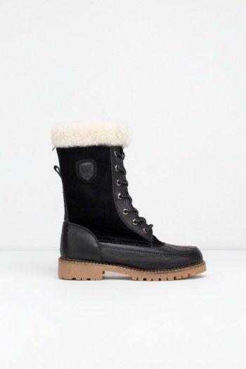 Boden Winter Boots in Black by Rudsak