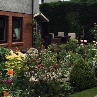 Garden of the day! Thanks Lesley Nicol for sharing this photo with me. From the great borders to the seating area, this is great space! #garden #gardening #gardenoftheday