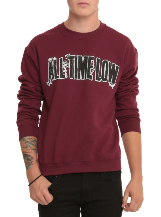 All time low hoodie