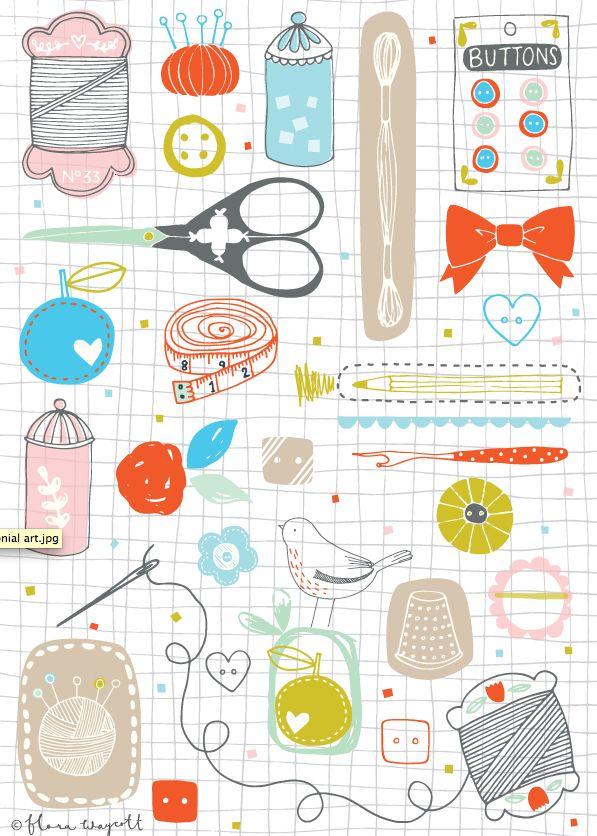 Flora Waycott Sewing Art 2014